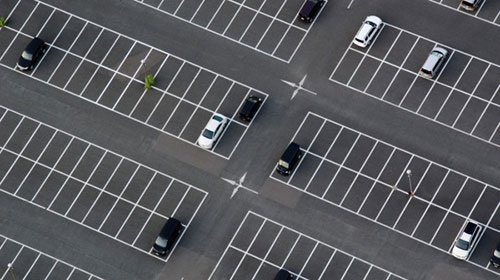 Line Striping For Parking Lots