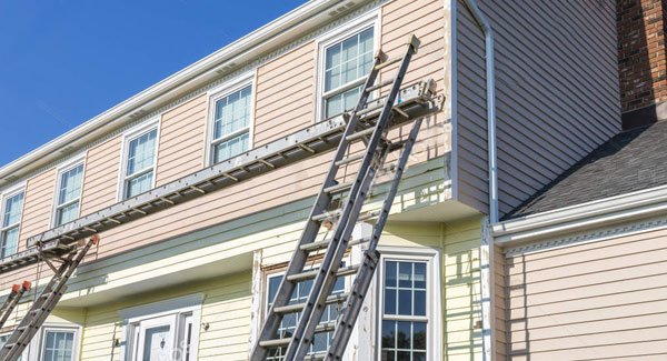 Vinyl and Aluminum Siding Painting
